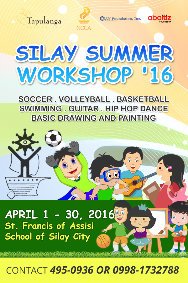 Summer Workshop with logos